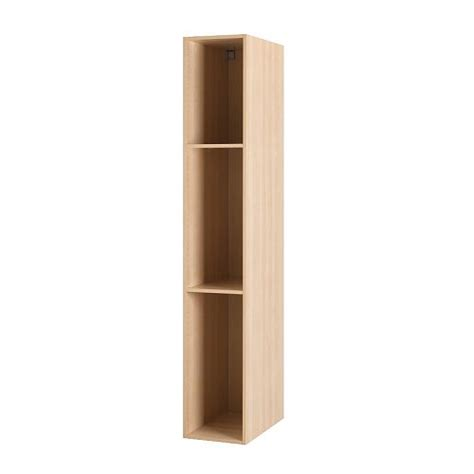kitchen cabinet frames only akurum high cabinet frame birch effect 15x88 quot ikea