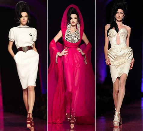 From Rehab To Catwalk by Jean Paul Gaultier Haute Couture The Unveils