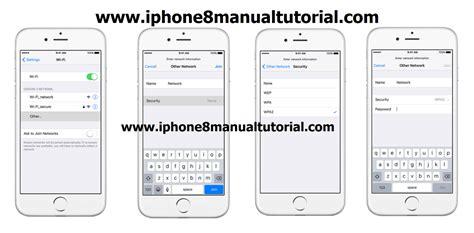 tutorial video iphone iphone 8 wi fi settings tutorial iphone 8 manual tutorial