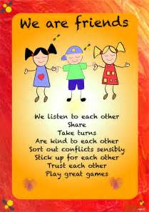 friendship posters for children usarmycorpsofengineers