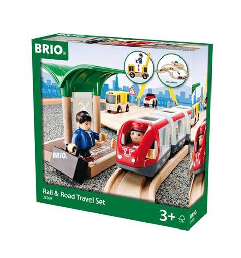 brio road and rail brio rail road travel set schylling