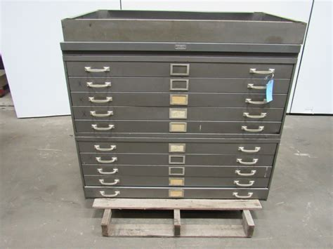 Blueprint Drawers Cabinet by Republic 10 Drawer Architect Blueprint Flat Files File