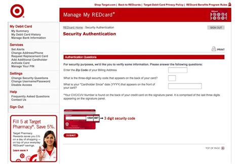 What Is The Card Number On A Target Gift Card - how to change your redcard debit card pin number