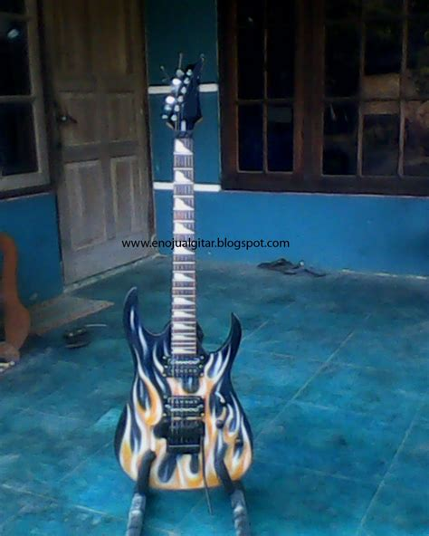 gitar elektrik custome api