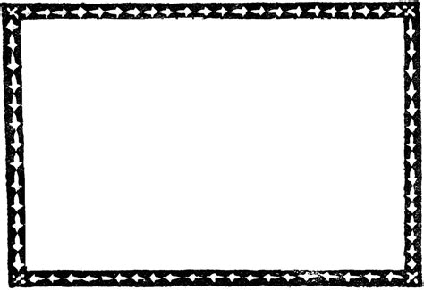 simple arrow border clipart
