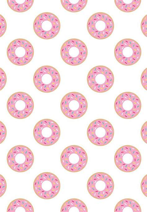 donut digital paper   colors pattern paper