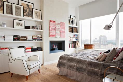 How To Decorate Shelves In Bedroom by White Wall Shelves Design For Small Bedroom Decorating