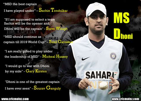 ms dhoni s inspirational poem quotes on dhoni by legends cricmatez
