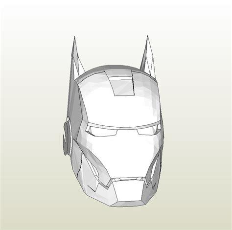 iron foam armor templates papercraft pdo file template for iron iron bat
