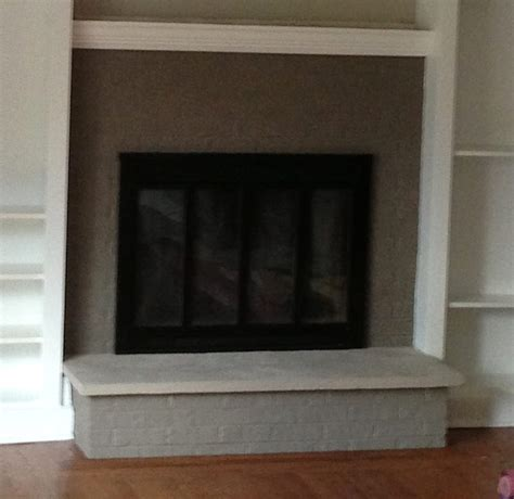 Painting Fireplace by Brick Fireplace Painting Laffco Painting