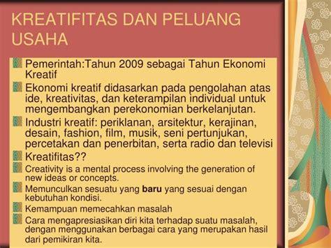 Laundry Baju Kiloan Banjarmasin ppt visi kewirausahaan kreativitas peluang usaha