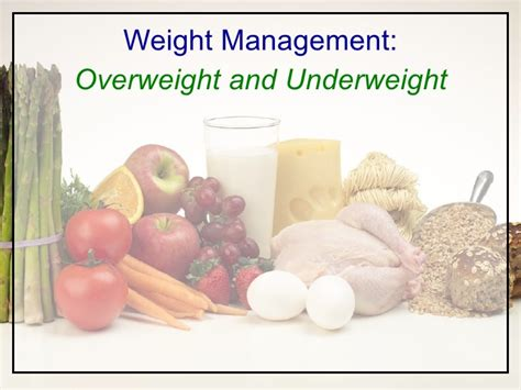 chapter 9 weight management overweight and underweight chapter 9 weight management