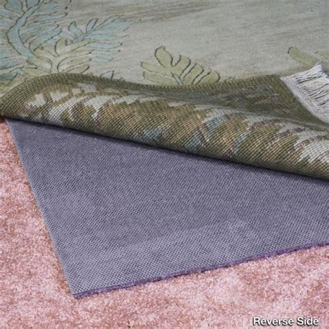 Rug Pad Size by Duo Lock Reversible Felt And Rubber Non Slip Rug Pad Size