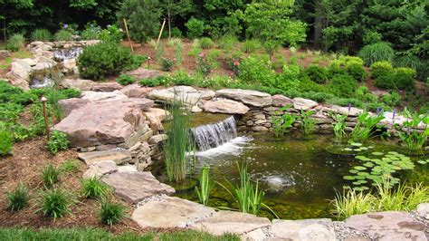how to create a pond and stream for an outdoor waterfall should i have a stream with my koi pond premier ponds