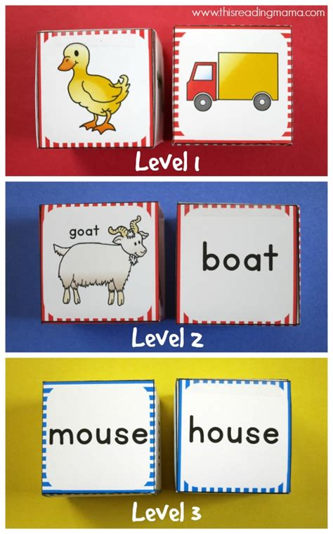 rhyming pattern activities roll a rhyme rhyming activity free