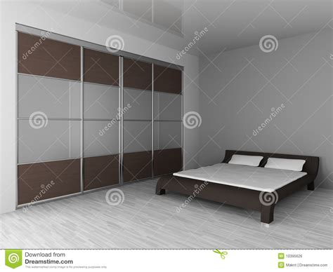 wardrobe and bed royalty free stock image image 10395626