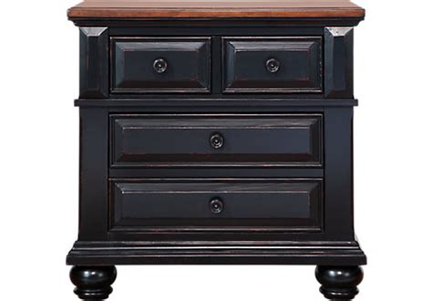berkshire lake black nightstand nightstands colors