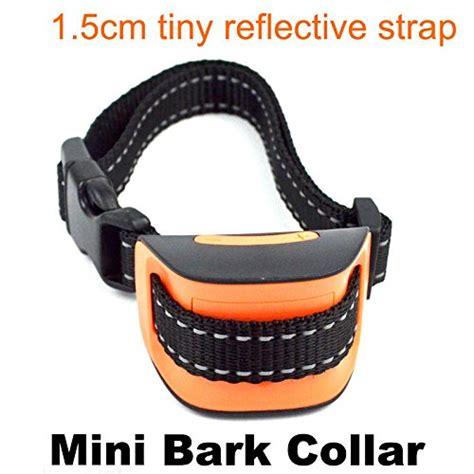 bark collar for small classic miniv vibration no bark collar small