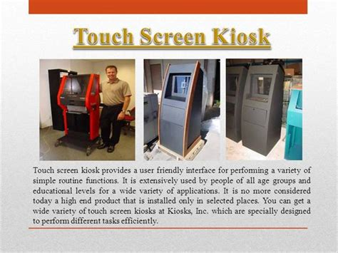 powerpoint templates for kiosk touch kiosk authorstream