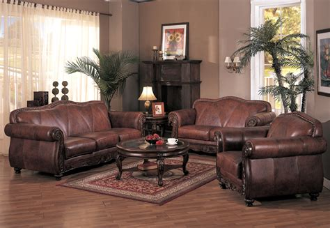 Leather Chairs Living Room by Fabric Leather Living Room Sofa Interior Design Ideas
