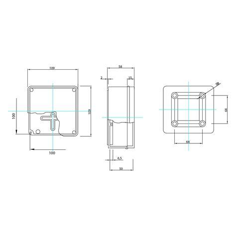 cassette stagne cassetta contenitore scatola stagna derivazione ip56