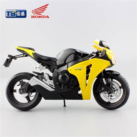 Die Cast Miniatur Motor Honda Hornet 1 New 1 12 scale motorcycle honda cbr1000rr die cast motorbike alloy metal models race car toys