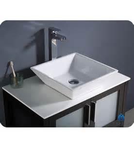 Modern Bathroom Vessel Sinks Fresca Torino 30 Quot Espresso Modern Bathroom Vanity W Vessel Sink Direct To You Furniture
