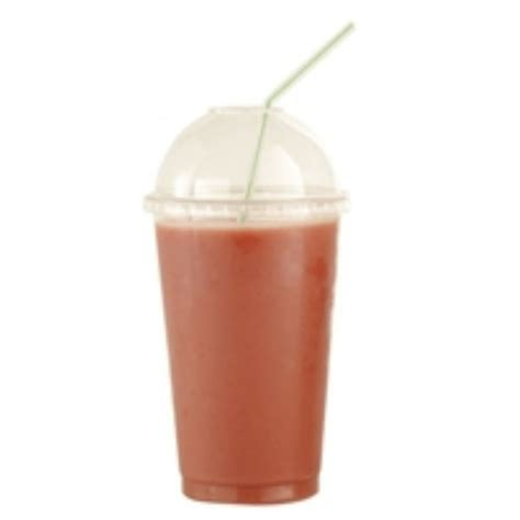 Cappuccino Cups smoothie juice cup clear 14oz pet 12 540 pack cb022