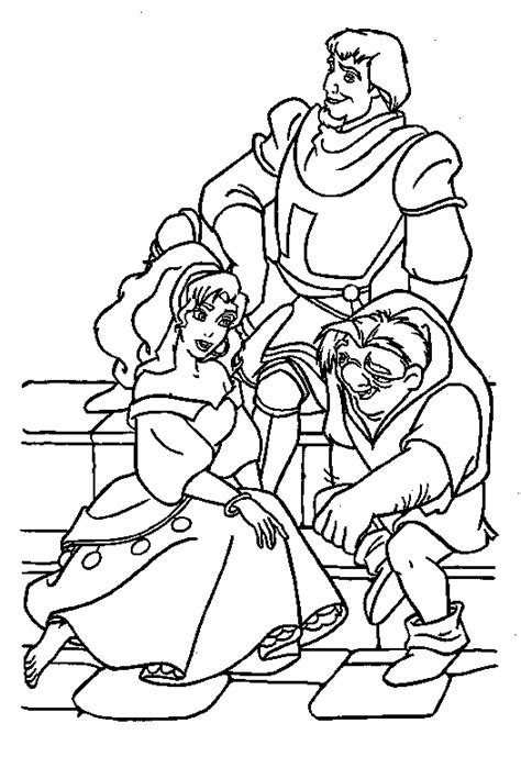 disney coloring pages hunchback notre dame the hunchback of the notre dame coloring pages