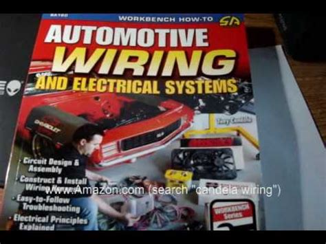 automotive wiring and electrical systems book a must