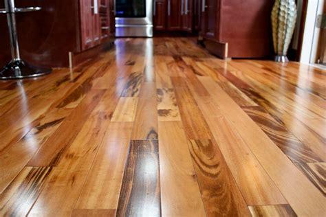 clear prefinished solid brazilian tigerwood koa wood hardwood flooring sample ebay