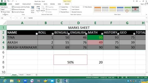 powerpoint tutorial bangla pdf microsoft excel 2013 tutorial in bengali part 2 b