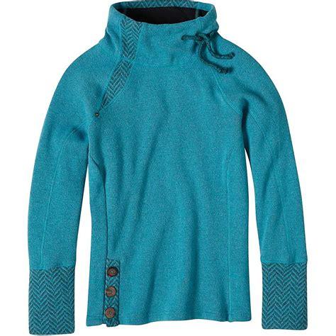Sweater Go Inter List Blue prana s lucia sweater at moosejaw