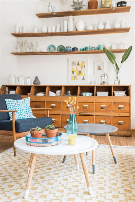 wohnzimmer 60er wohnzimmer im april und flohmarktfund leelah