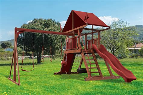 wood kingdom swing set prices sk 4 mountain climber quality kids backyard playset