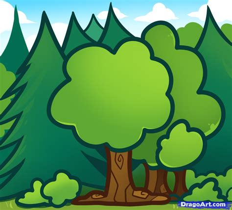 drawing images for kids how to draw trees for kids step by step trees pop