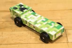 boy scout derby car templates pinewood derby car ideas minecraft pinewood derby car