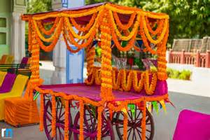 Travel Themed Home Decor floral infused sikh wedding amp sangeet at the diggi palace