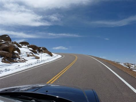 drive up pikes peak a drive up pike s peak drive the nation