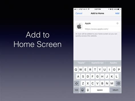 how to bookmark a website on your ios home screen the