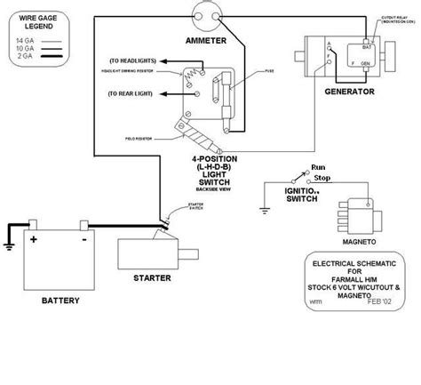 farmall cub wiring diagram voltage regulator wiring farmall cub