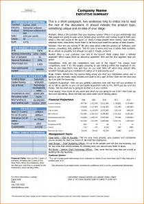 Executive Summary Template Word by Update 15634 Word Executive Summary Template 29