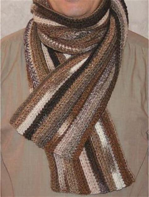 17 best ideas about crochet mens scarf on