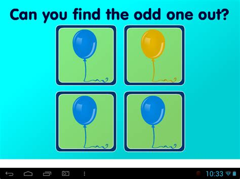 the odd one out odd one out colour content classconnect