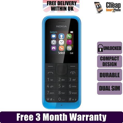 nokia dual sim cheap mobile nokia 105 dual sim blue unlocked sim free durable cheap