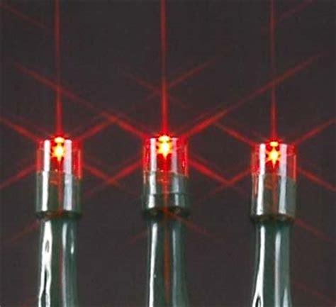 Red Solar Christmas Lights With 50 Bulbs Novelty Lights Inc 50 Solar Lights