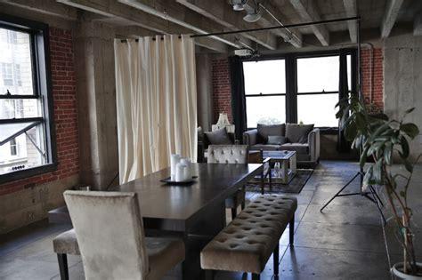 loft room dividers ivory loft style room divider kit modern living room
