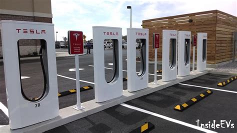 on the live at tesla s 100th supercharger in