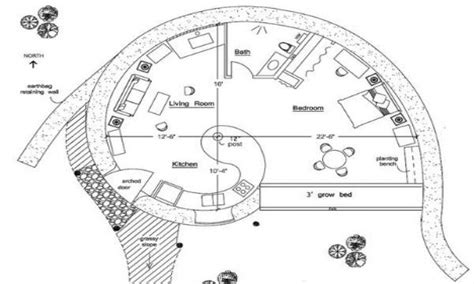 hobbit house floor plans home hobbit house floor plans inside hobbit house small