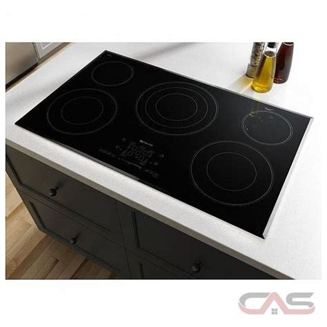 jenn air cooktop electric jenn air jec4536bs cooktop electric cooktop 36 inch 5